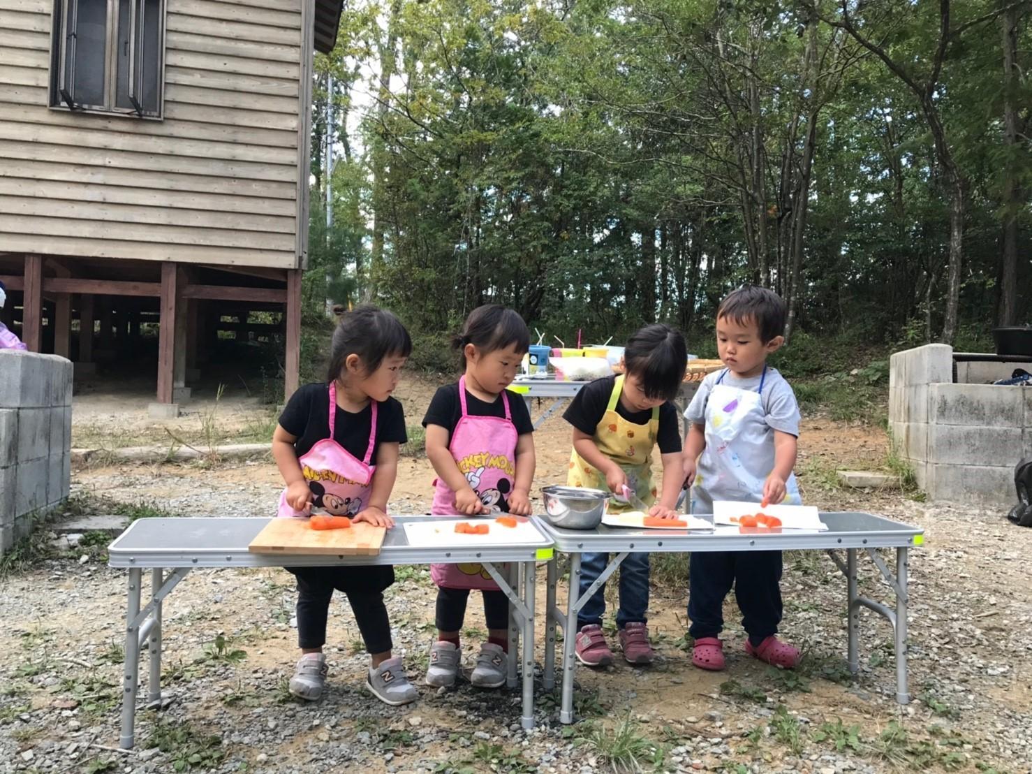 【1/12-13】親子で冬の森キャンプ @ 神戸三田アウトドアビレッジ TEMIL
