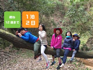 【12/29-30】冬の森をまんきつキャンプ @ 神戸三田アウトドアビレッジ TEMIL